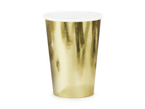 Cups, gold, 220ml