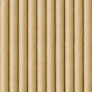 Paper straws, kraft, 19.5cm