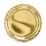 Plates, gold, 23cm
