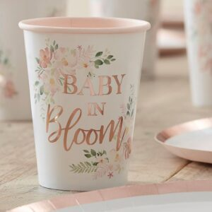 Rose Gold Flower Baby In Bloom Cup